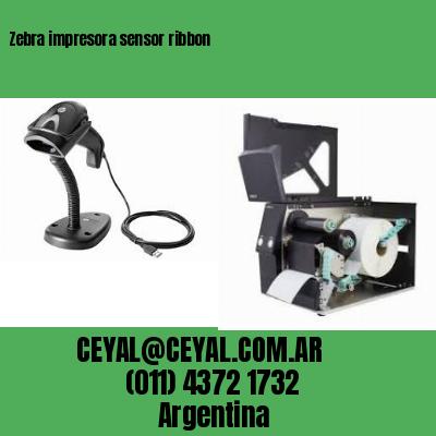 Zebra impresora sensor ribbon