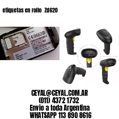 etiquetas en rollo  Zd620