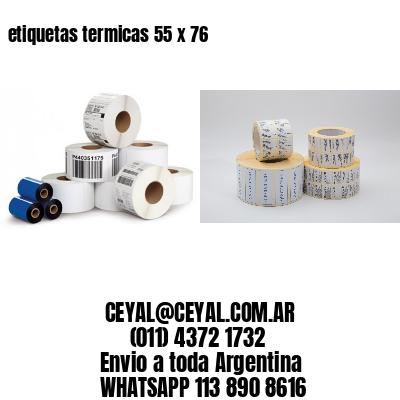 etiquetas termicas 55 x 76