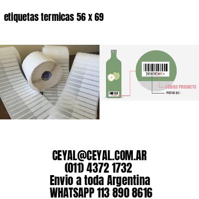 etiquetas termicas 56 x 69