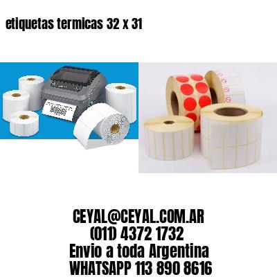 etiquetas termicas 32 x 31