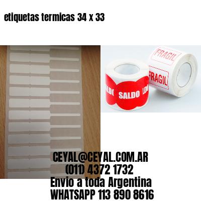 etiquetas termicas 34 x 33