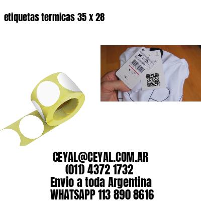 etiquetas termicas 35 x 28