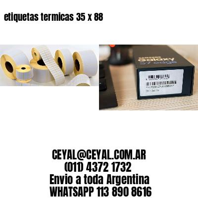 etiquetas termicas 35 x 88